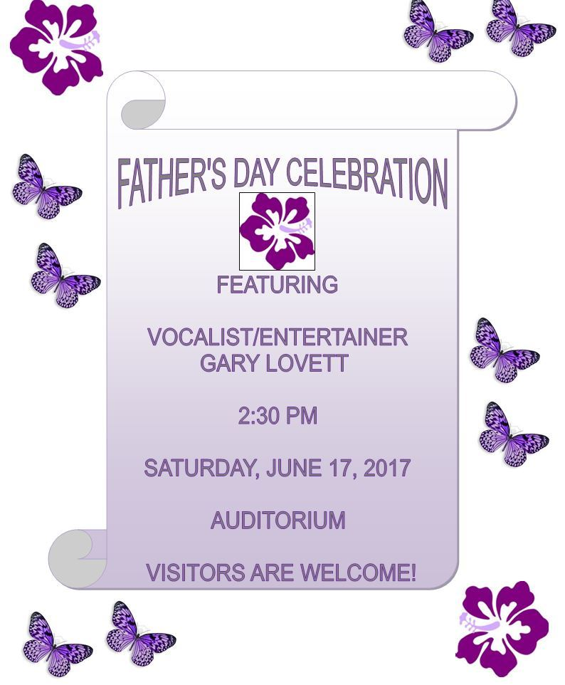 Father's Day Celebration at King Street Rehab