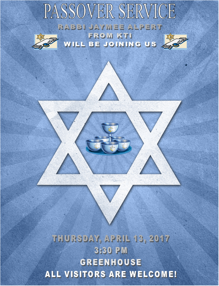 Rabbi Jaymee Alpert of KTI Joins KSR for Our Passover Service